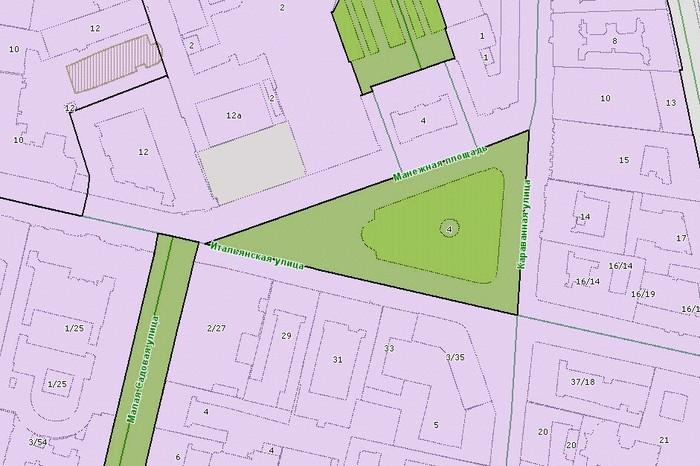 Рисунок 2. Схема территориального зонирования