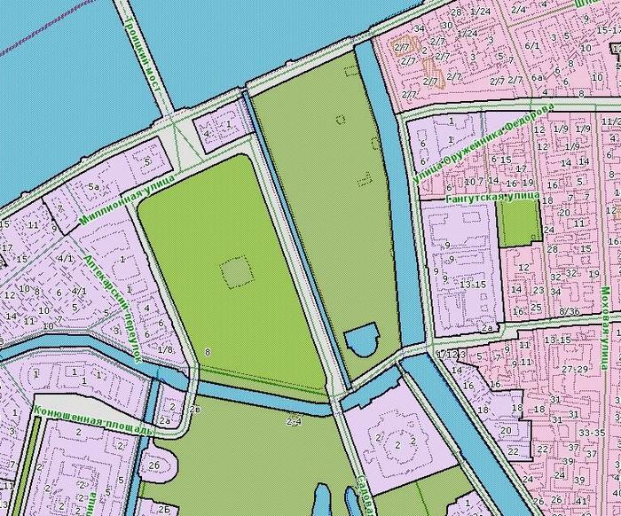 Рисунок 4. Схема территориального зонирования