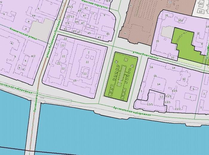 Рисунок 6. Схема территориального зонирования