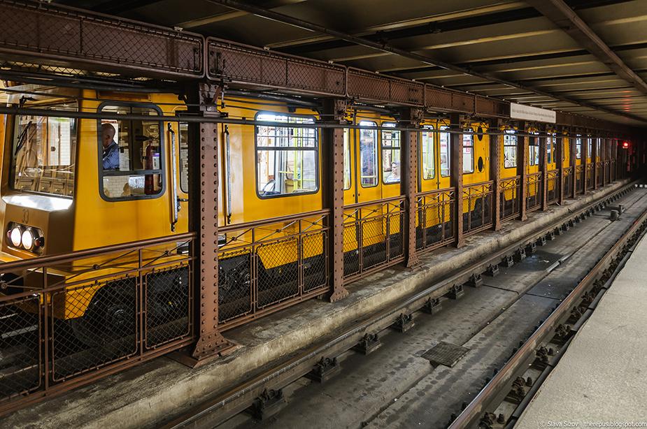 Первая линия будапештского метро «Földalatti»