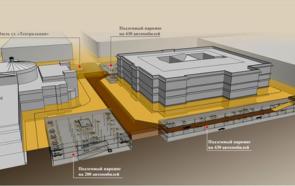 Проект подземного паркинга
