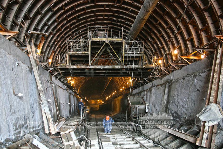 Строительство метро Санкт-Петербурга