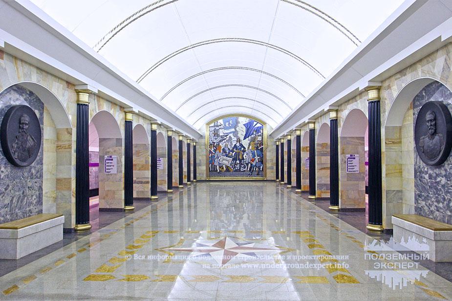 Фото станции метро «Адмиралтейская»