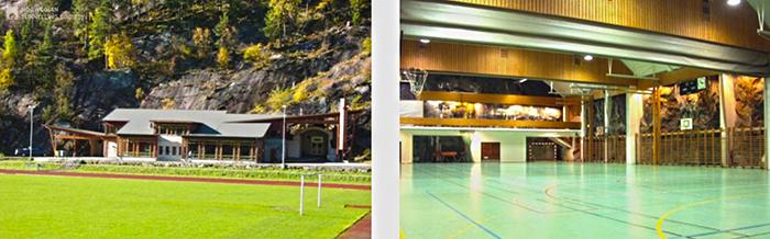 Спортивный комплекс в городе Одда, Норвегия