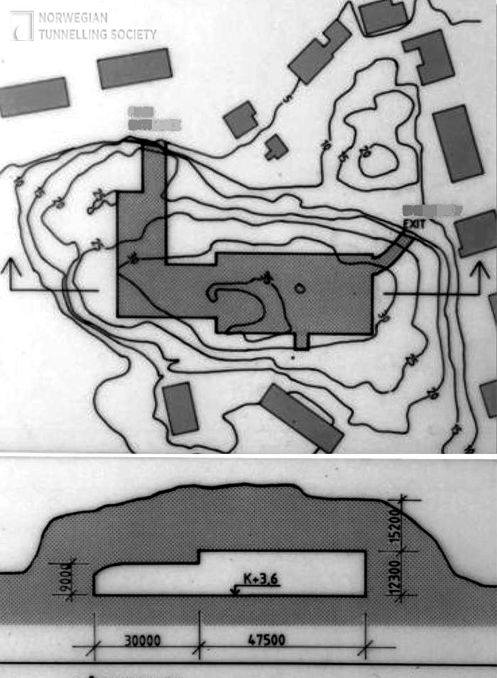 Схема спортивного комплекса Våganhallen