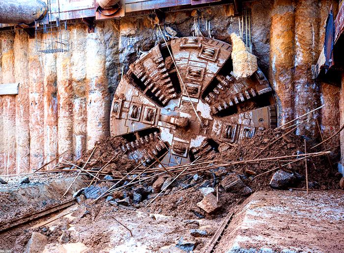 Завершение проходки тоннеля