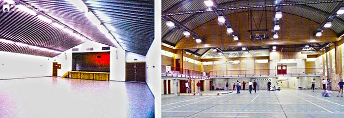 Спортивное сооружение Holmenhallen в коммуне Аскер