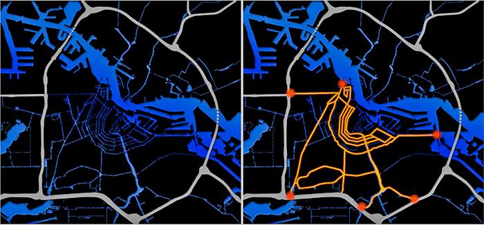 Проект Амфора - система тоннелей