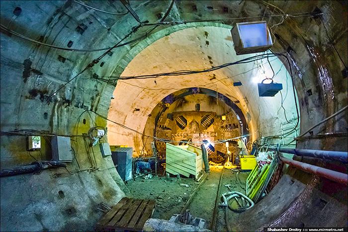 Фото тоннель - Дунайский проспект