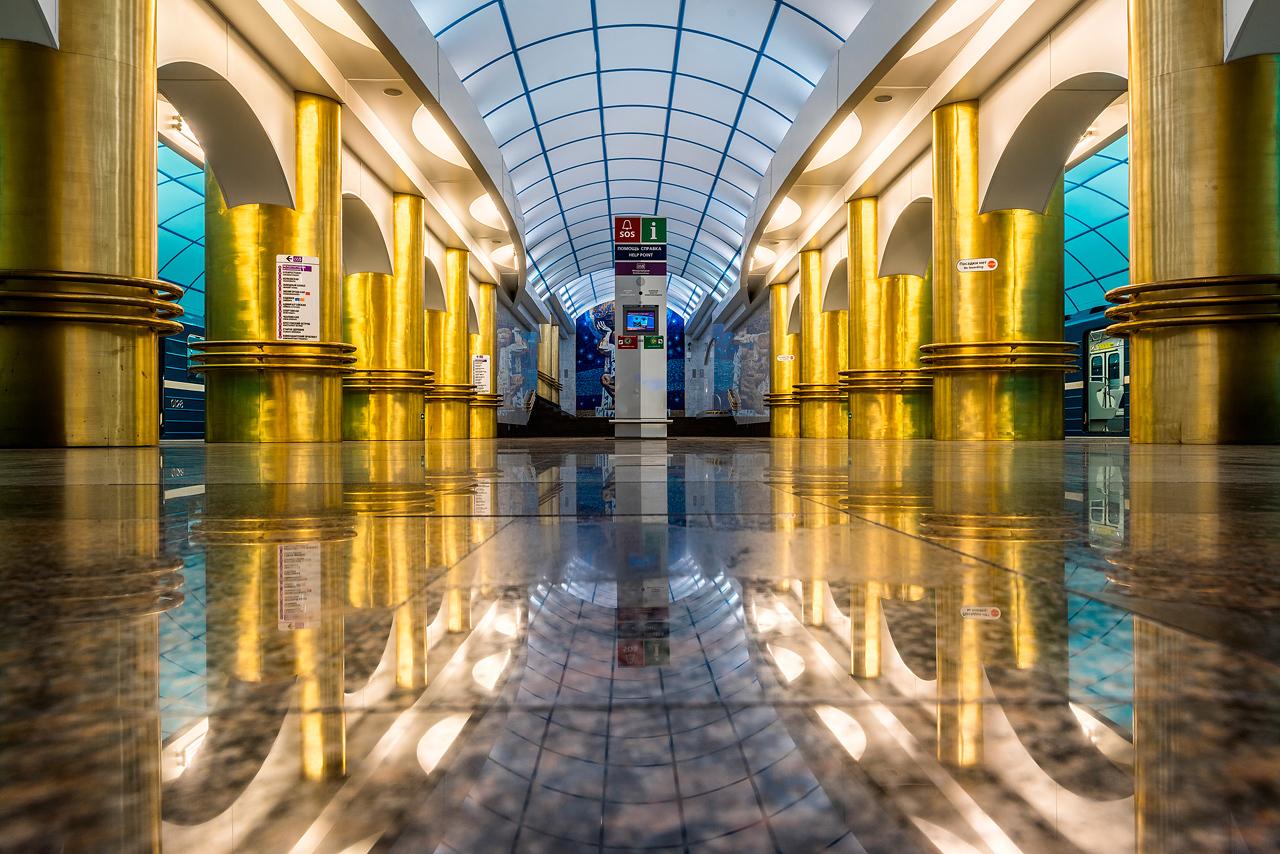 Станция метро Международная в СПб