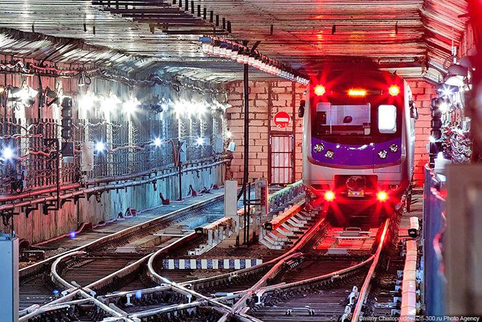 подвижной состав Алматинского метро