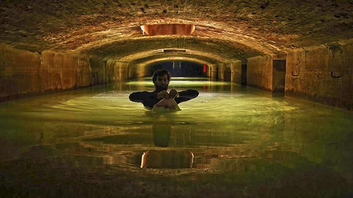 Подводное хранилище под Оперой Гарнье