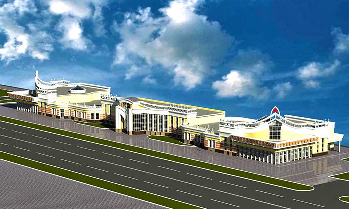 Проект двух станционных комплексов «Гусинобродская» и «Молодежная» с электродепо «Волочаевское»