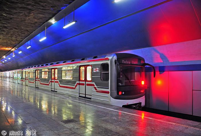 Подвижной состав в метро Тбилиси
