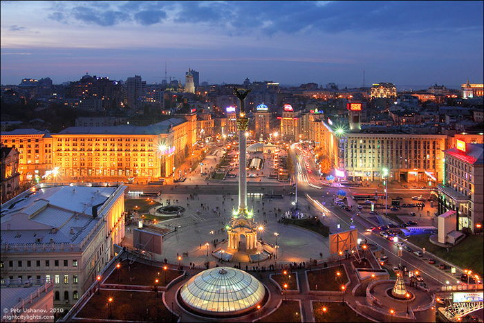 Панорама города Киев