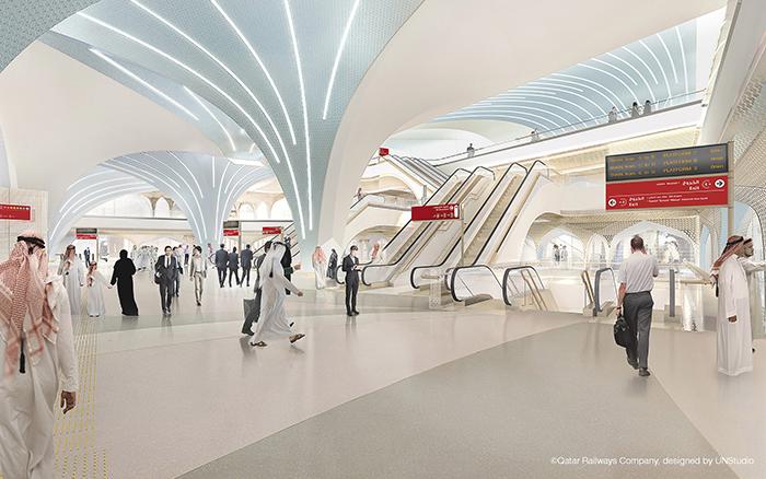 проект метро Дохи