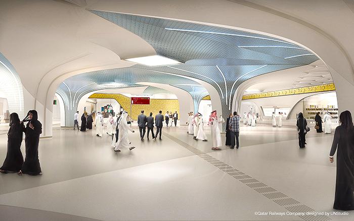 проект метро в Дохе