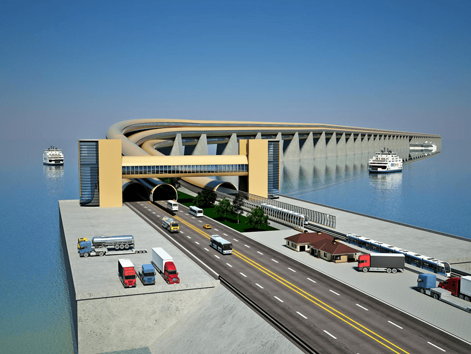 Future Kerch Bridge