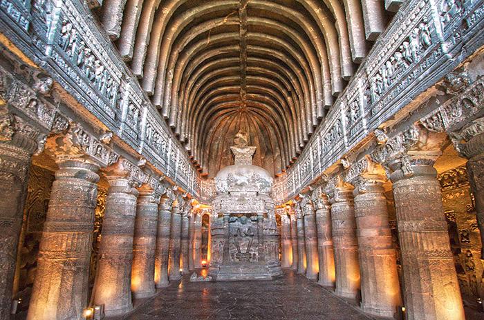 The Ajanta cave