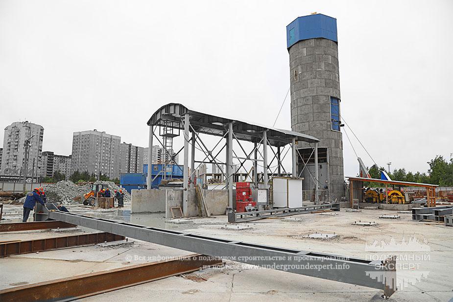 Строительство метро Юго-Западная