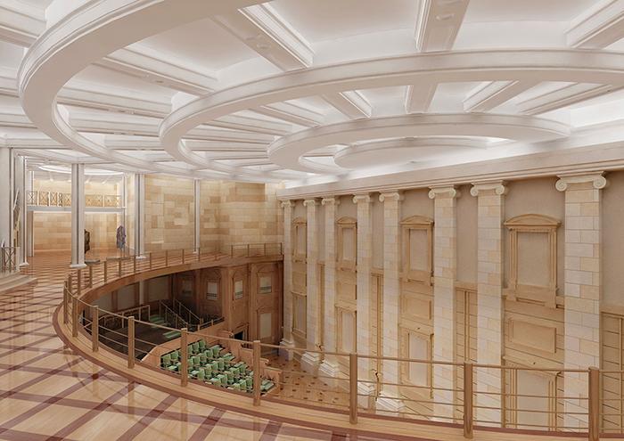 Подземный концетный зал Большого театра