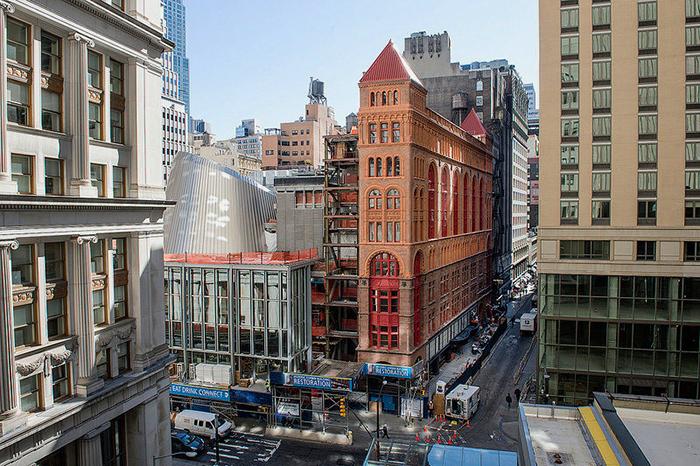 Работы по реконструкции особняка Корбина в Нью-Йорке