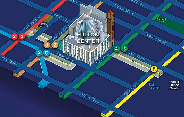 Схема Фултон-центр