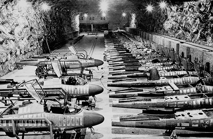 Underground plant Heinkel He-162