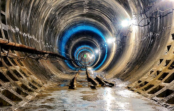 Тоннель метро Омска