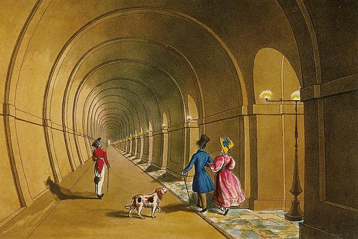 Тоннель под Темзой Таурский тоннель