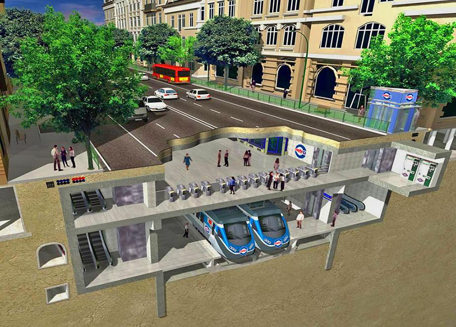 Quito's metro design