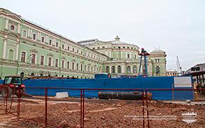 Станция метро Театральная в СПБ