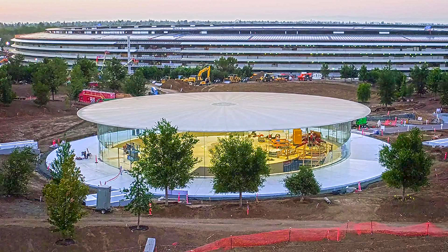The Steve Jobs Theatre