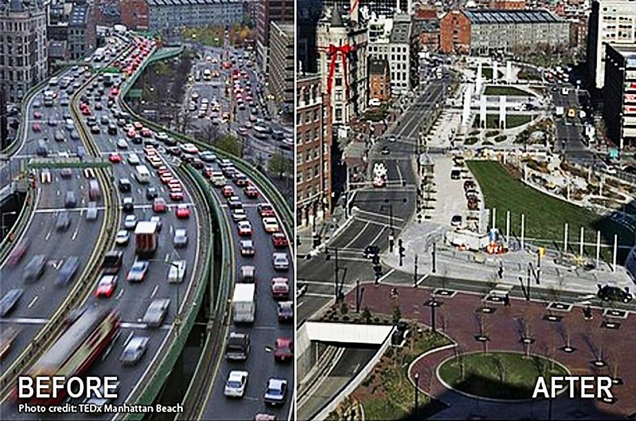 Тоннель Big Dig Бостон