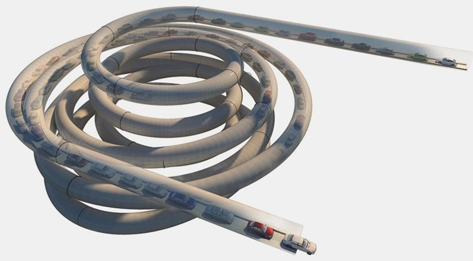 CarTube - транспортная развязка