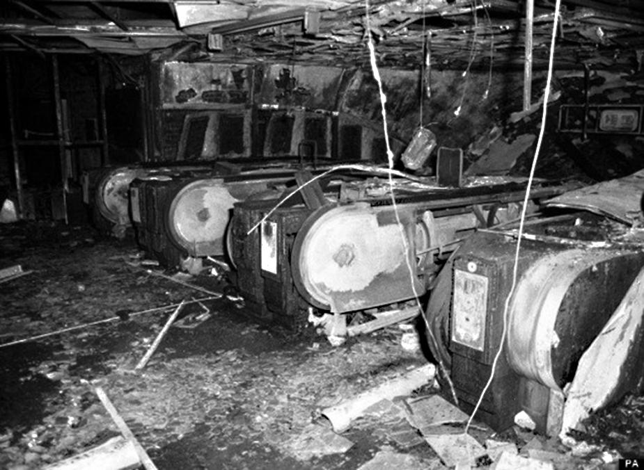 Пожар в лондонском метро на станции Кингс Кросс, 1987 год