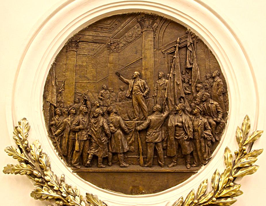 Сталин на барельефе А. И. Далиненко