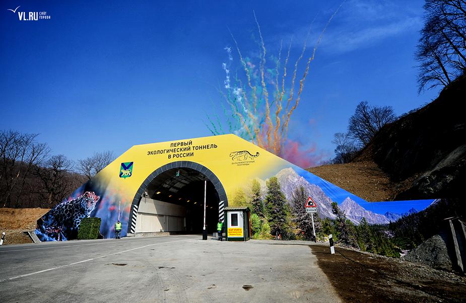 Экологический тоннель для леопардов