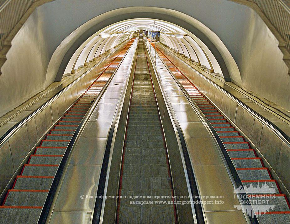 Эскалаторный тоннель