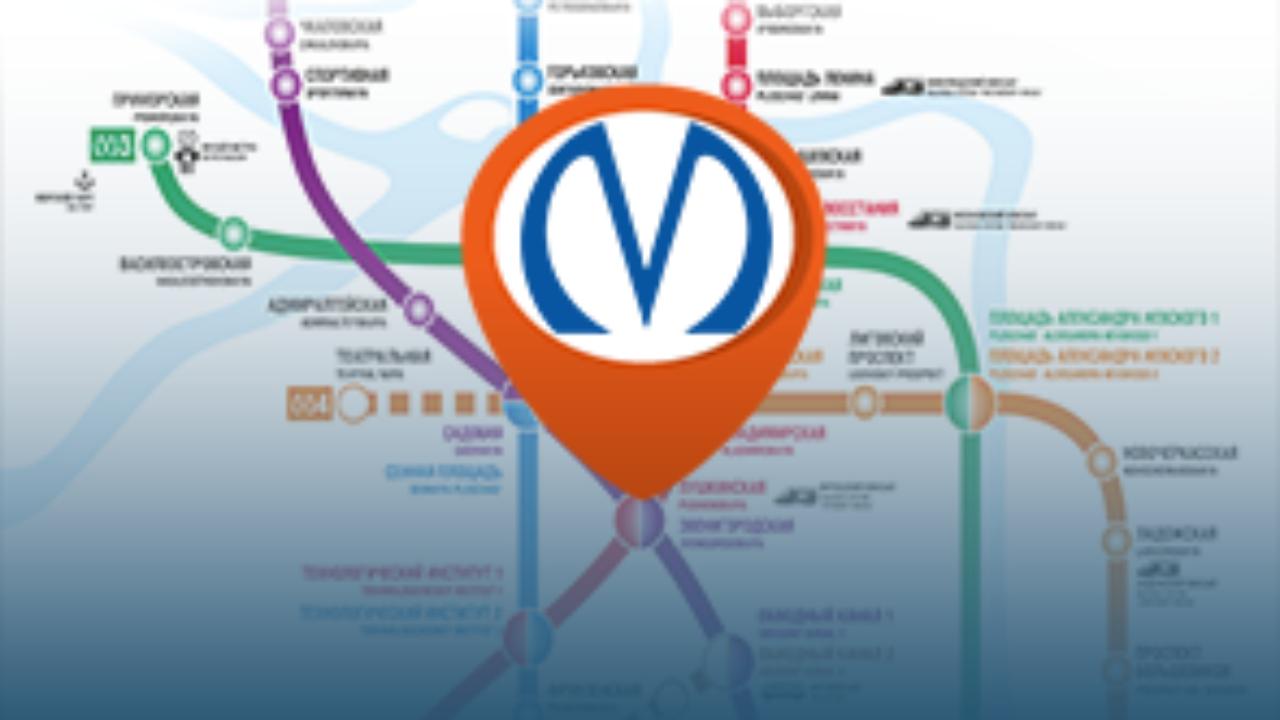 Карта метро спб спб