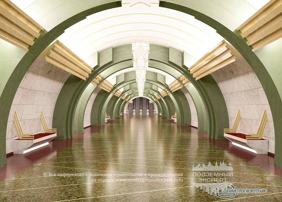 Станция метро Казаковская