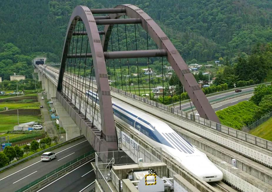 Магнитолевитационный транспорт в Китае