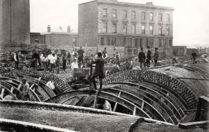 Строительство лондонского метро