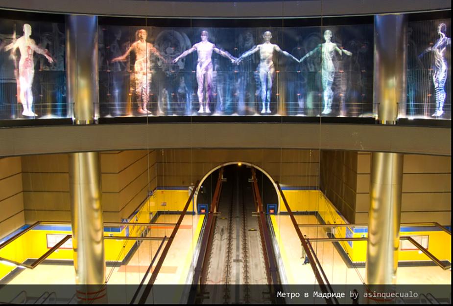 Станция мадридского метрополитена