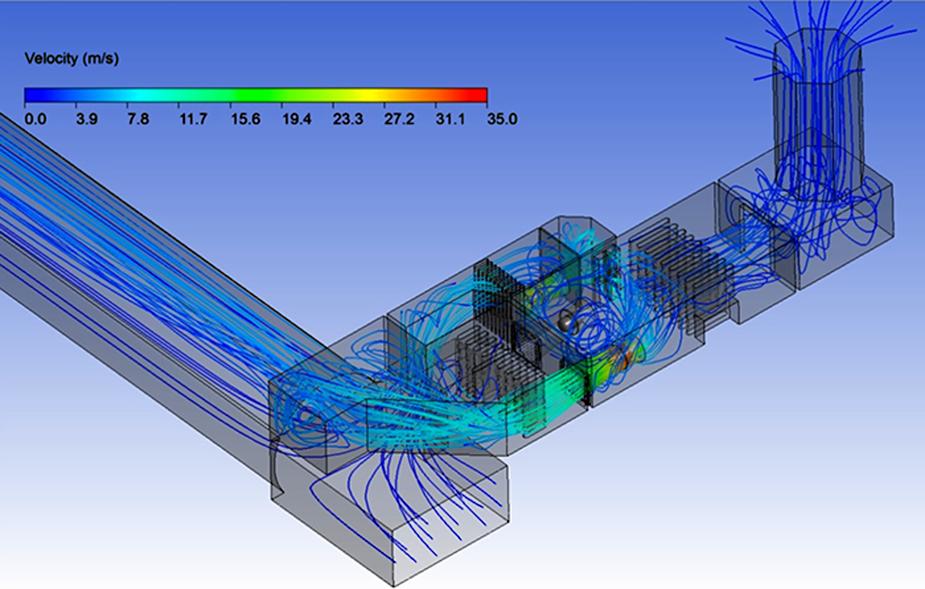 Результаты моделирования воздухораспределения в тоннеле, ОАО «НИПИИ «Ленметрогипротранс»