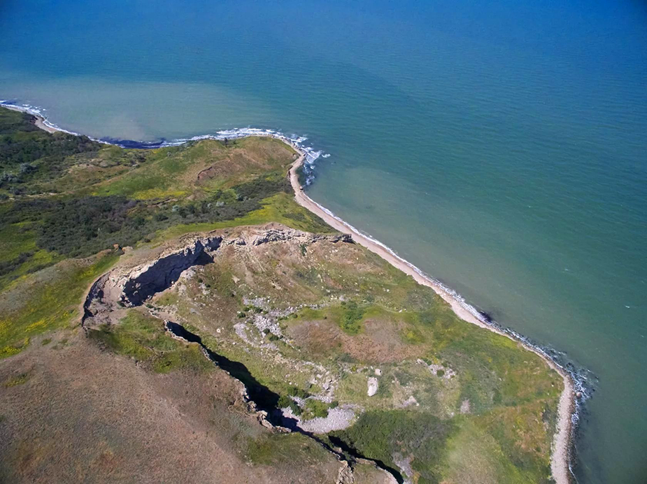Мыс Фонарь и паромная переправа в Крыму
