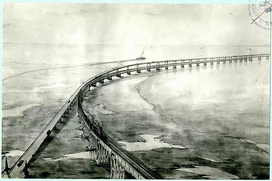 Керченский мост Сталина
