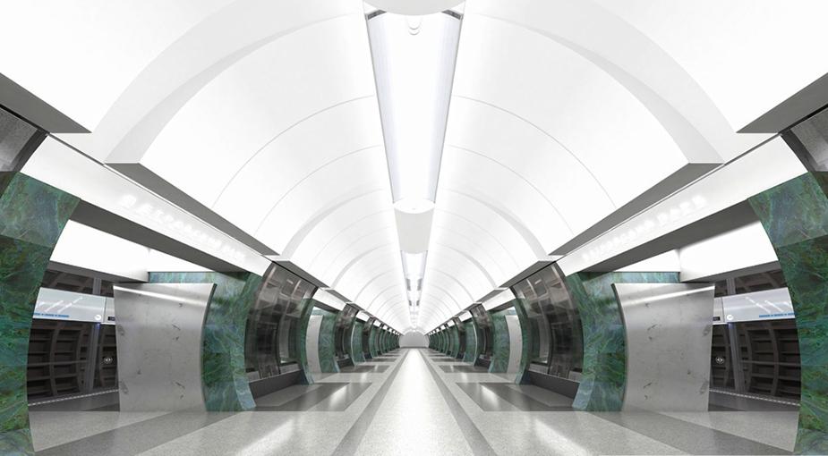 Традиционно станции московского метрополитена