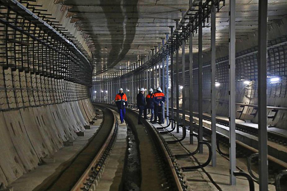 Двухпутный тоннель Спб