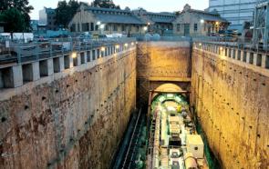 метро барселоны строительство